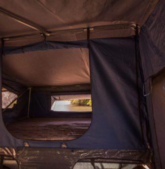 Austrack Tent interior