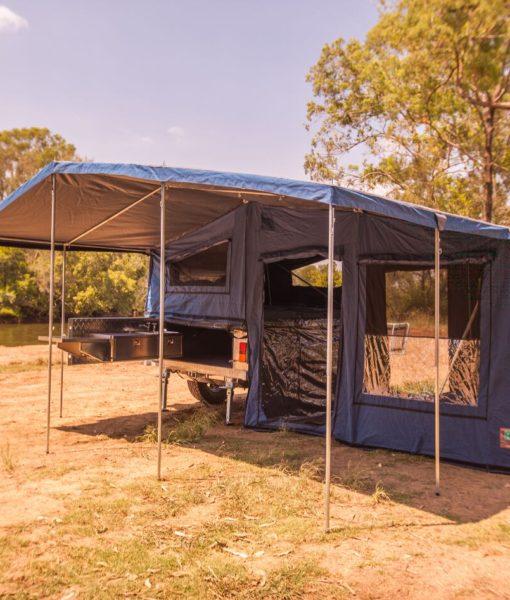 Cool Avan Weekender Camper Trailer Donehues Leisure Mt Gambier Annex