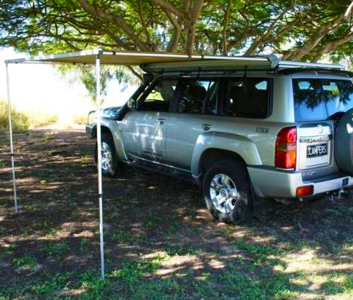 Vehicle Awning 2 5m X 2 5m Camper Trailers Rooftop Tents