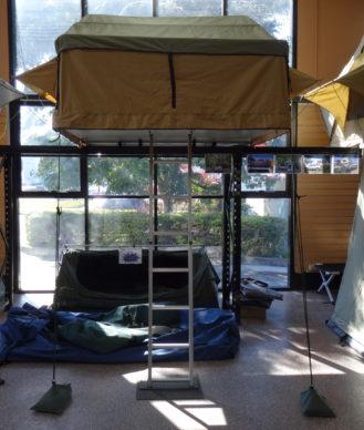 Roof Top Tent Superior 1.8 showroom