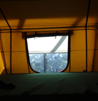 Roof Top Tent 1.8 Superior interior