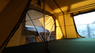 Roof Top Tent 1.8 Superior interior