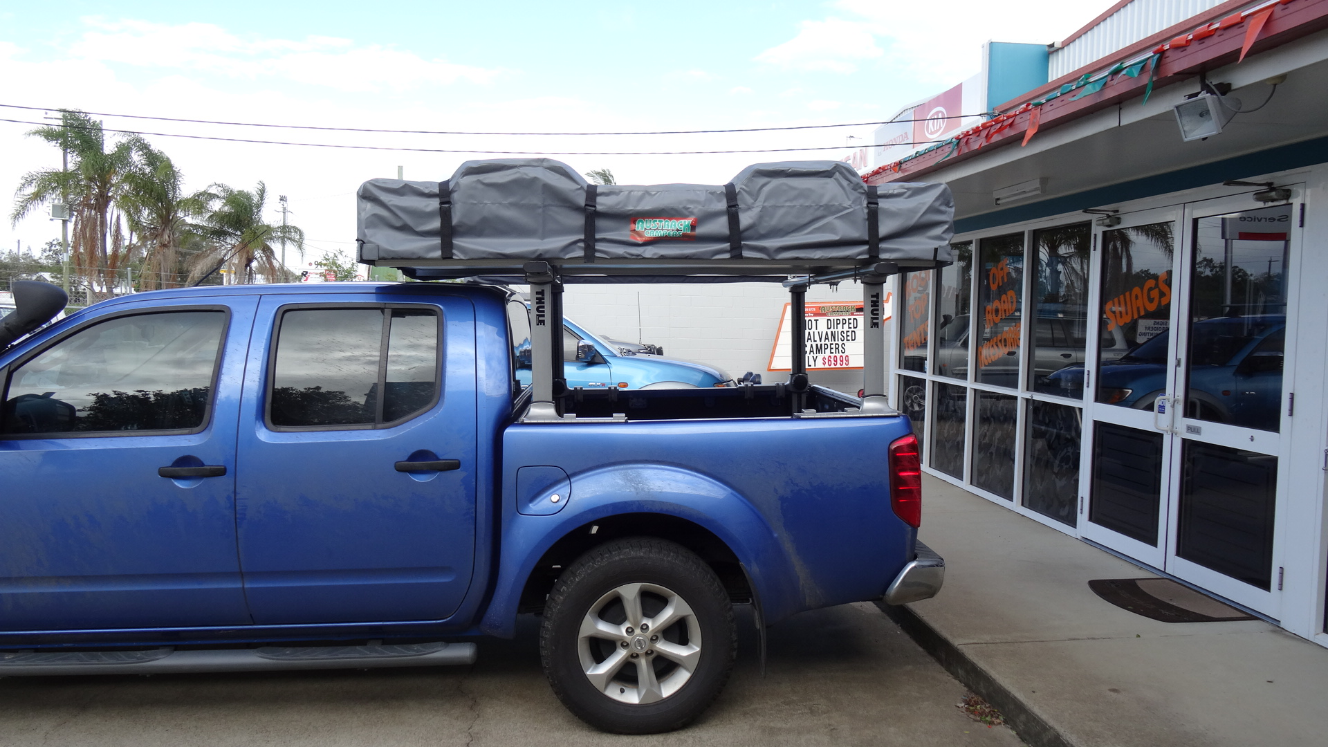 SUPERIOR XL Roof Top Tent 2.2m - Camper Trailers & Rooftop ...