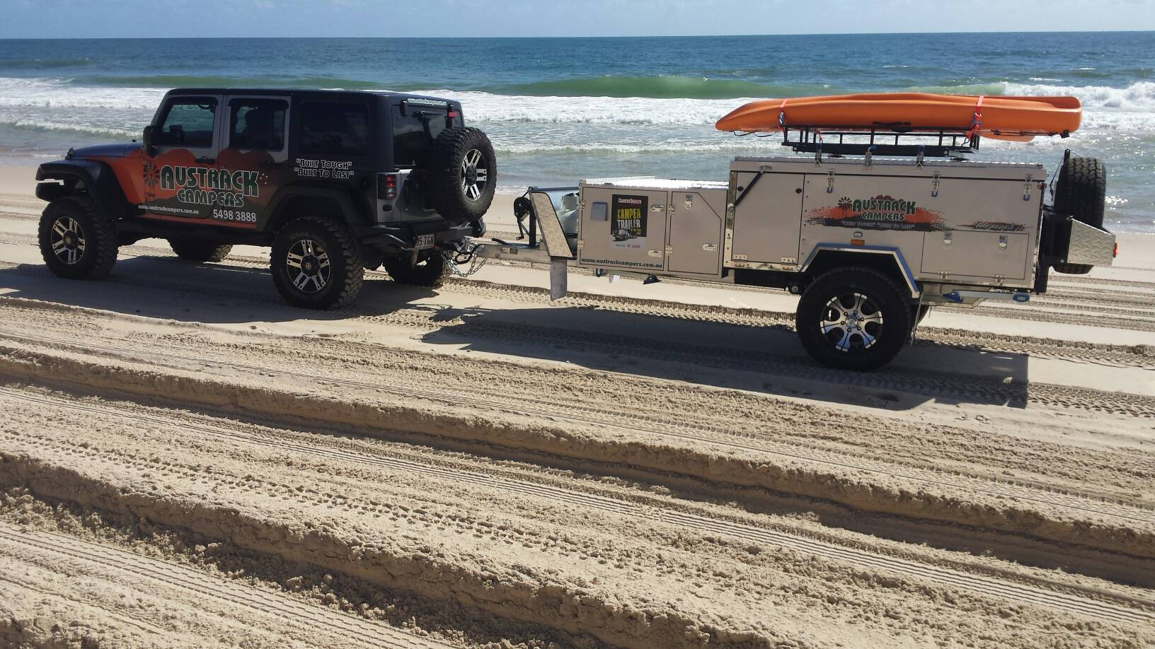 Austrack Campers Camper Trailer of the Year 2017 entry