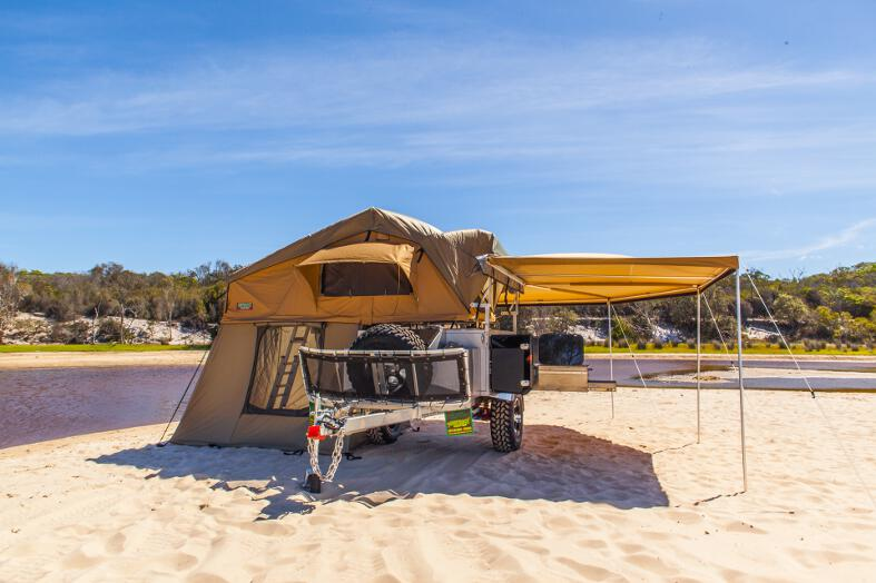 Simpson Rooftop Tent Camper Trailer Camper Trailers