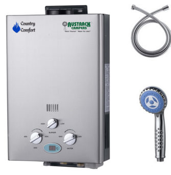 country comfort hot water system branded
