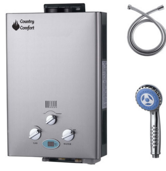 country comfort gas hot water system