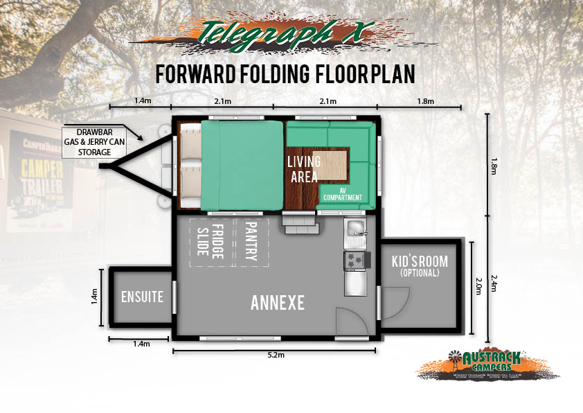Telegraph X floor plan